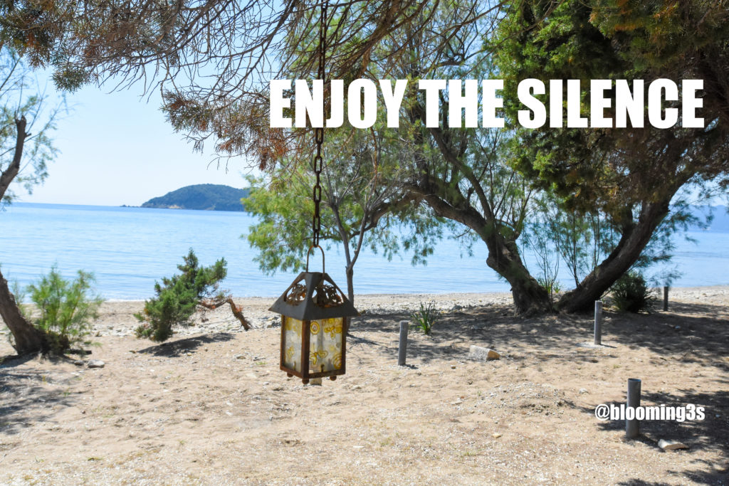 Enjoy the silence - Blooming3s.nl